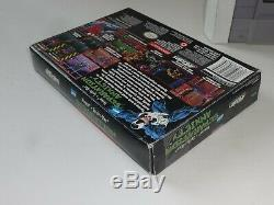Venom-spider-man Anxiété De Séparation (snes) Super Nintendo Cib Complete Box 1995