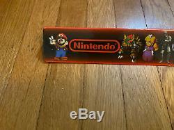 Vintage Snes Super Nintendo Mario Rpg Legend Seven Stars Magasin Affichage Signe
