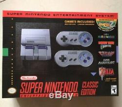 Voir Video New Snes Classic Edition Super Nintendo Minichaînes 21 Jeux Hdmi
