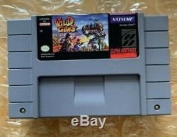 Wild Guns Snes (super Nintendo Entertainment System, 1995) Authentique