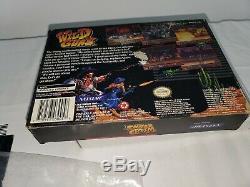Wild Guns (super Nintendo Snes) Complète Dans L'encadré