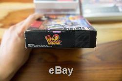 Wild Nuns Super Nintendo, 1995 Snes Cib Manuel Complet De La Boîte Natsume Rare