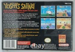 Yoshi's Safari Super Nintendo Snes Nouvelle Usine Scellée