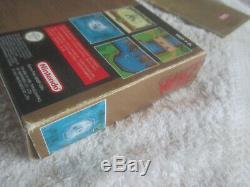Zelda A Link To The Past / Boxed Avec Des Instructions / Super Nintendo Snes Pal