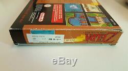 Zelda Pack Gold Big Box Holy Grail Super Nintendo Snes D'origine