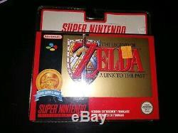 Zelda Un Lien Vers Le Passé Snes Blister Fr Super Nintendo Snes