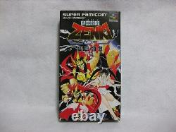 Zenki Bataille Raiden Sfc Snes Super Famicom Nintendo Japon Jeux Vidéo
